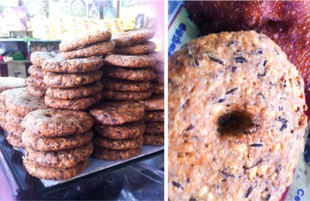 The South Indian Masala Vadai as seen at a Temple Food Stall in Srirangam, Tamil Nadu. Pic Taken in February 2015